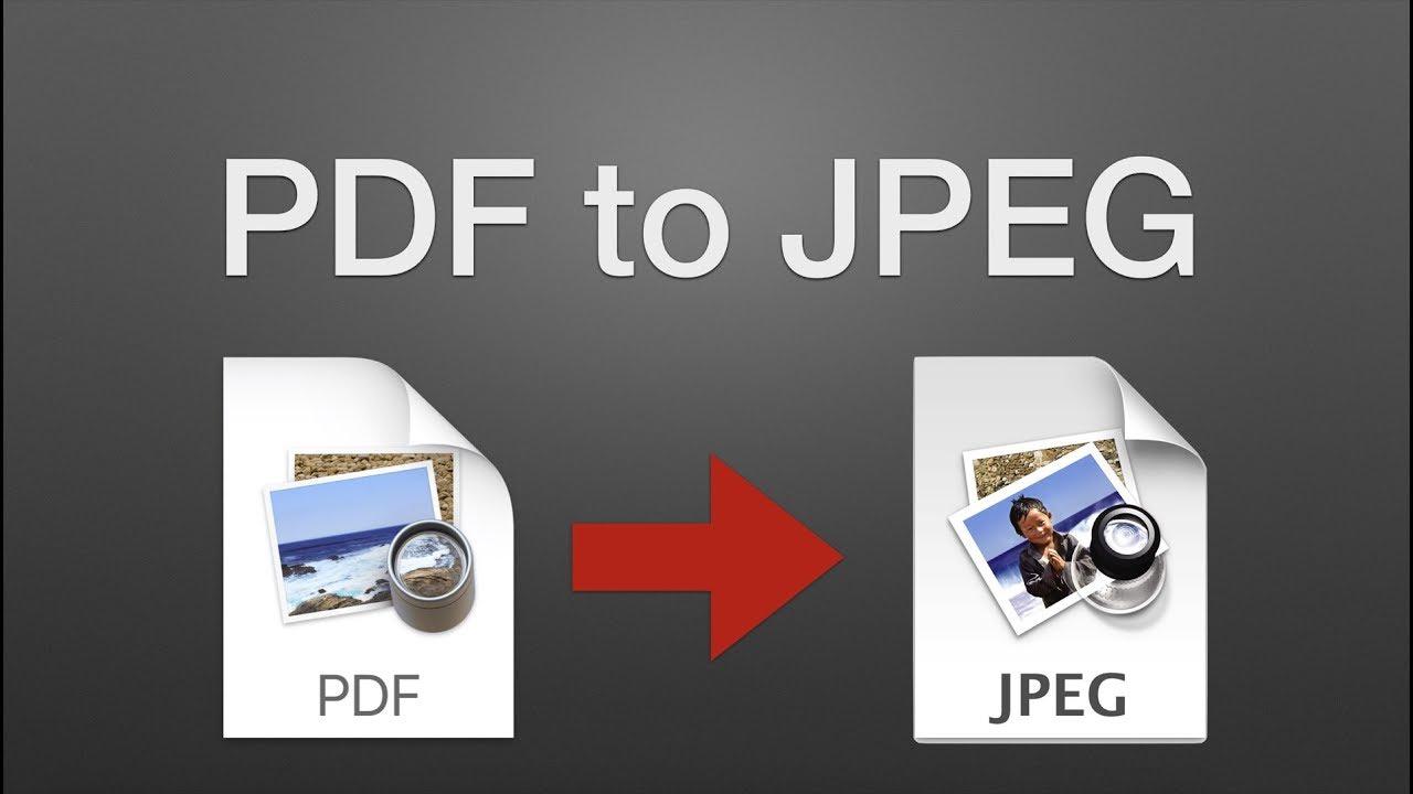 como transformar pdf em jpg no mac