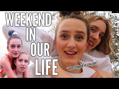 WEEKEND IN OUR LIFE  *city girls weekend in the country*