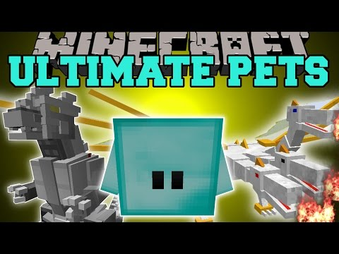 Thumbnail: Minecraft: OVERPOWERED PETS (YOUR OWN KILLING MACHINE THAT NEVER DIES!) Mod Showcase