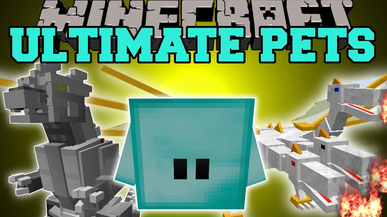 minecraft overpowered pets your own killing machine that