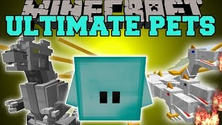 Minecraft overpowered pets your own killing machine that never dies
