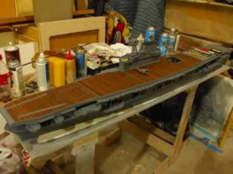 1 144 British Modern Aircraft Carrier Deck
