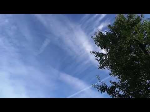 06:46 Chemtrails All Over Sunrise Barnet 14/7/14
