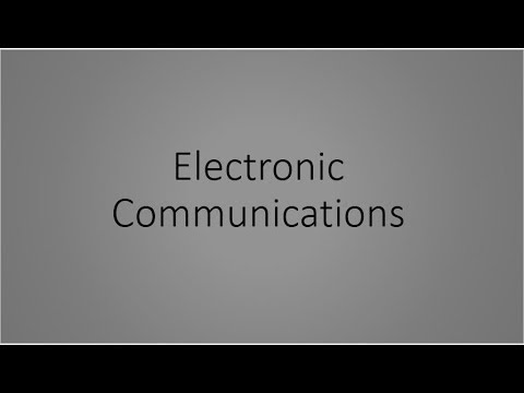 Electronic Communication