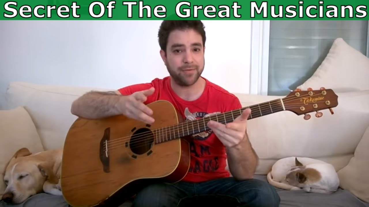 The One True Secret of All Great Musicians (It's Not Technique or Theory)