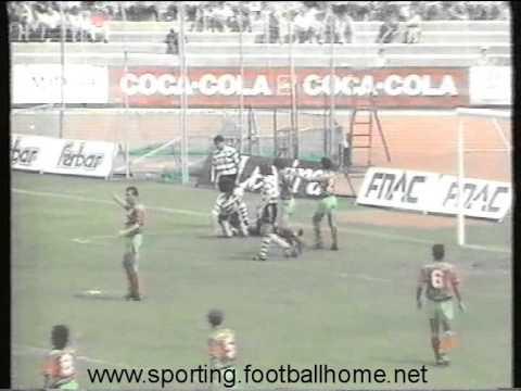 Marítimo - 1 x Sporting - 0 de 1991/1992