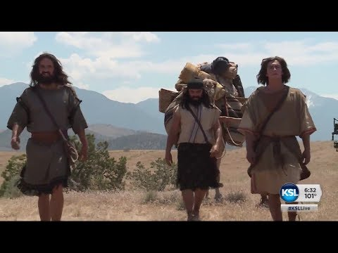 A behind the scenes look at the LDS Church's production of events in the faith's Book of Mormon