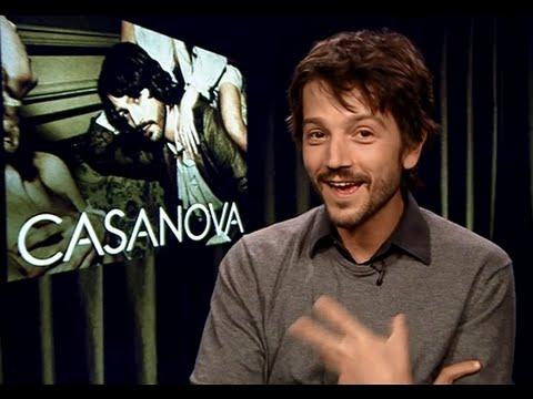 DIEGO LUNA Interview! On Star Wars Rogue One, Amazon Shopping & Casanova