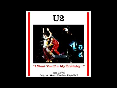 U2 - ZOO TV - I Want You For My Birthday (1992/05/09)