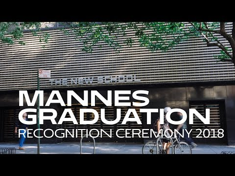 2018 Mannes Graduate Recognition Ceremony | College of Performing Arts at The New School