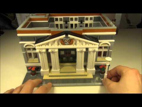Lego Modular Town Hall Set 10224 Review
