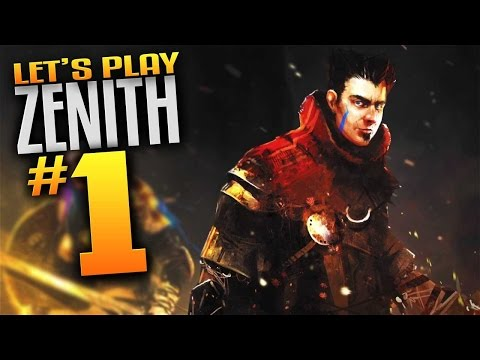 Zenith Gameplay - Ep 1 - (Let's Play Zenith Episode 1 Action RPG Comedy) (Mature Content)