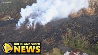 Hawaii Volcano Eruption Update - Thursday Morning (May 10, 2018)