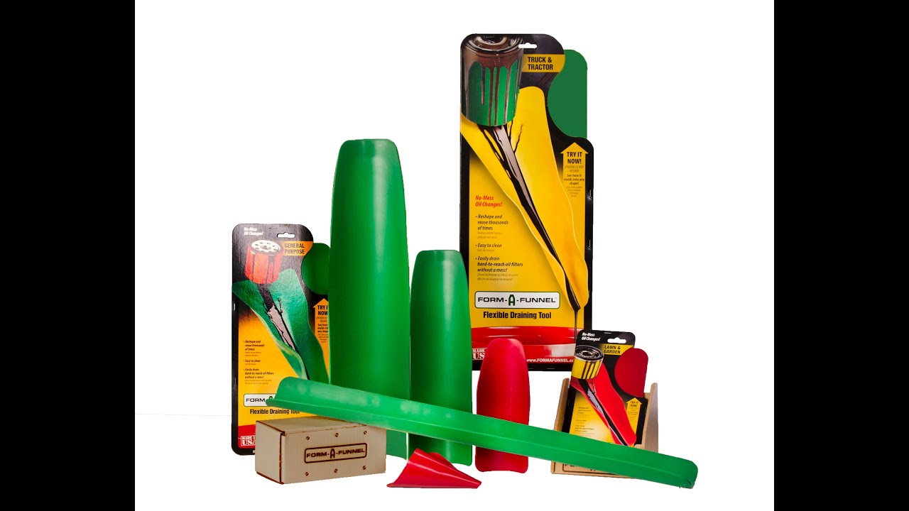 Mould It Into The Shape You Want. Flexible Funnel Draining Tool For Lawn /& Garden Allows You To Drain Oil Fuel And Other Fluids From Small Engines And Lawn Equipment