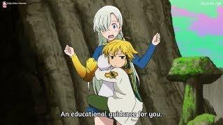 Elizabeth failed her training - Episode 12 - Nanatsu no Taizai: Imashime no Fukkatsu