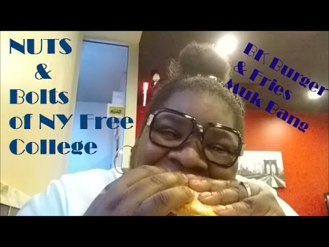 Truth About Free NY Tuition N Muk Bang BK Meal