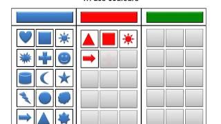Tri des couleurs (Autisme & TSA)