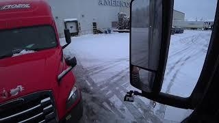 January 25, 2020/42 Trucking. Loading and Breakfast 🍳 on HOTLOGIC. Appleton Wisconsin