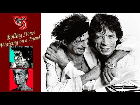 Rolling Stones Waiting on a Friend Live Remix Subtitulada By RollingBilbao Cover HD