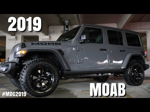 THE BRAND NEW 2019 JEEP Wrangler Unlimited Moab REVIEW!