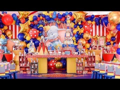 Fiesta de dumbo 2019 mesa de dulces fiestas infantiles - Decoracion de fiestas de cumpleanos infantiles ...