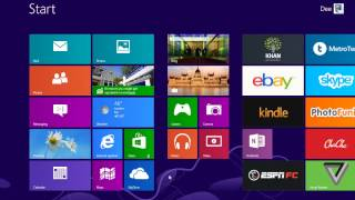 100 Windows 8 Tips and Tricks   1   Switching Between Metro UI and Desktop Mode