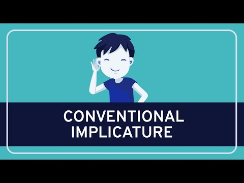 PHILOSOPHY - Language: Conventional Implicature [HD]