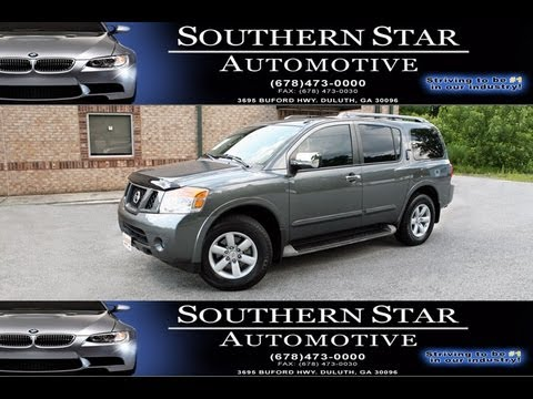 2010 Nissan Armada Se Youtube
