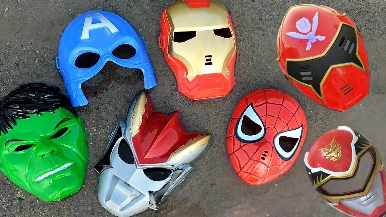 Download banyak topeng, ultraman, iron man, spiderman, hulk, kapten amerika,
