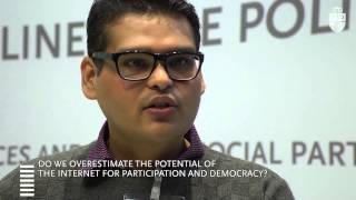 Nishant Shah - Do we overestimate the potential of the Internet for participation and democracy?