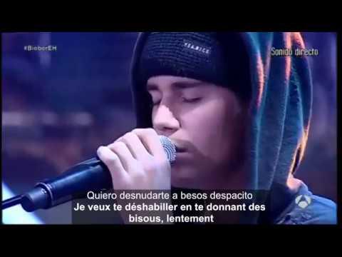 Despacito lentement (remix) traduction+lyrics Justin Bieber y Fonsi