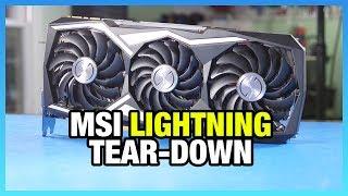 MSI 1080 Ti Lightning Tear-Down