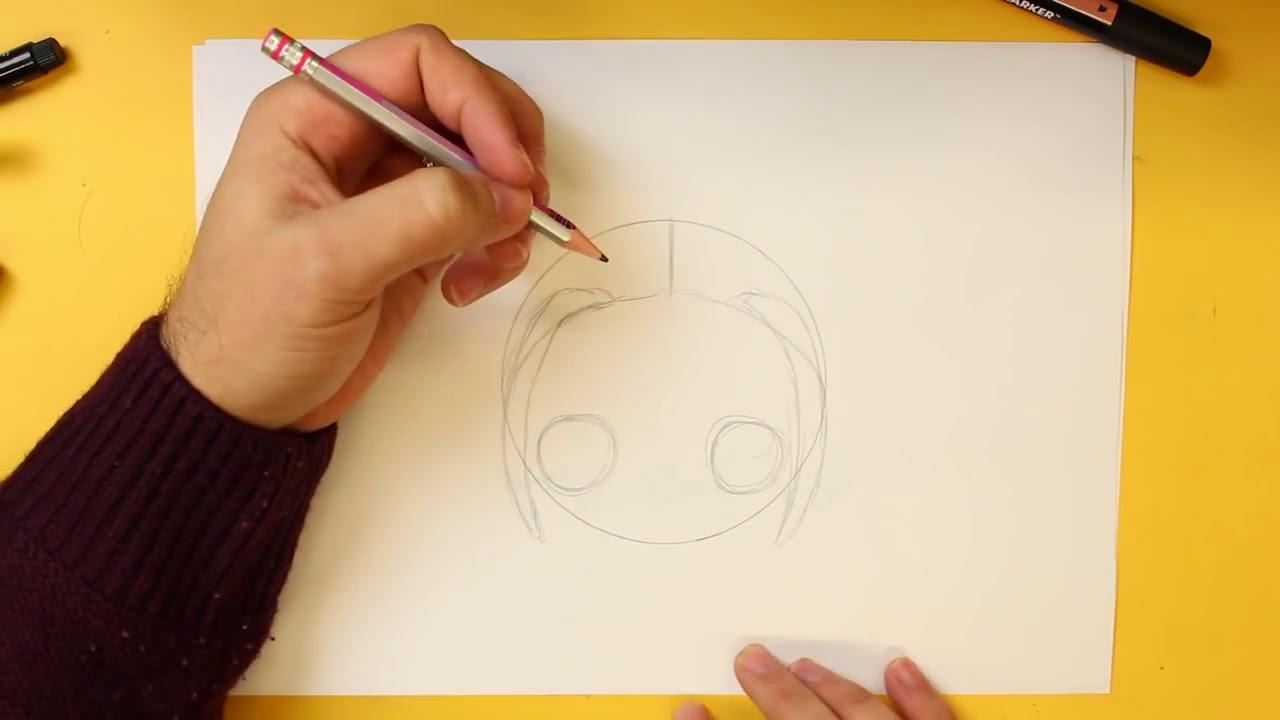 Como Dibujar Harley Quinn Kawaii Paso A Paso Dibujos Kawaii
