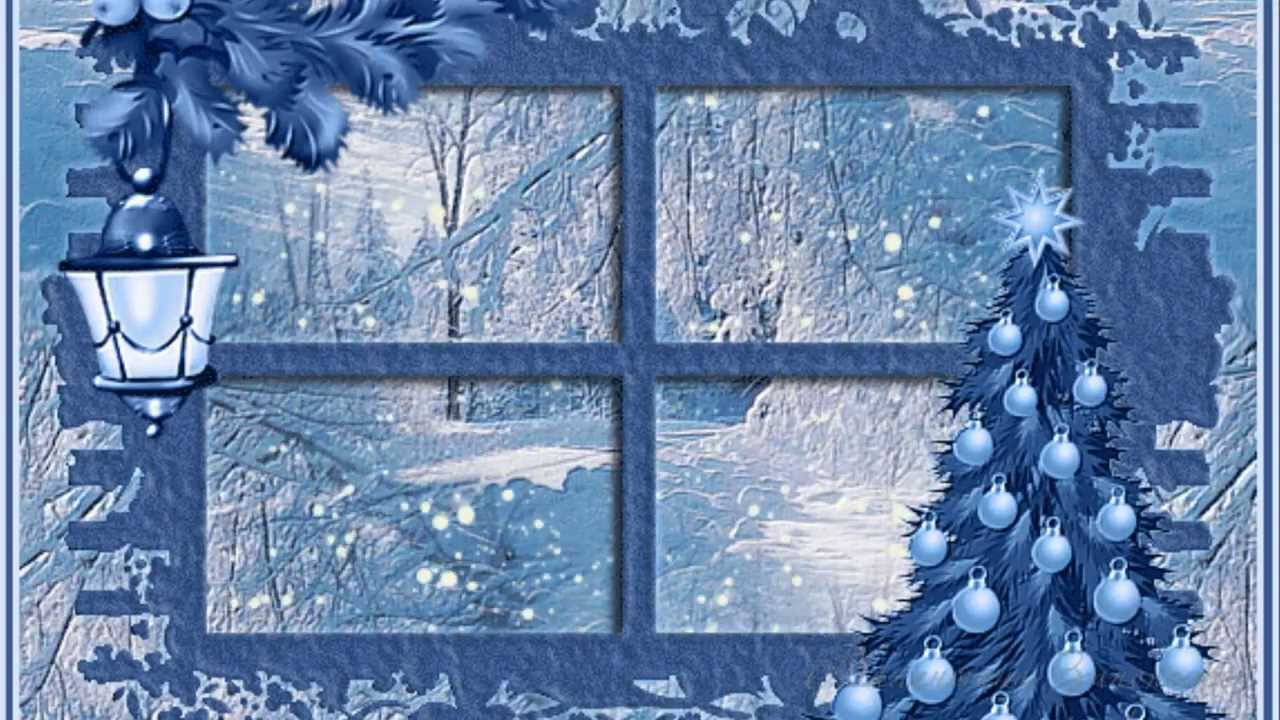 Картинки шаблоны морозного окна