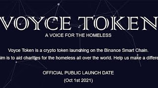 VOYCE TOKEN   The future of cryptocurrency