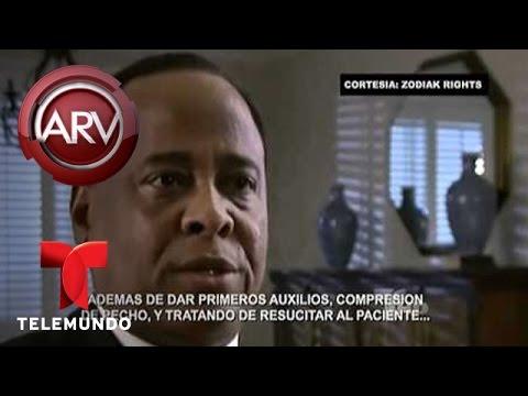 Al Rojo Vivo  Declaraciones de Conrad Murray el médico de Michael Jackson  Telemundo ARV