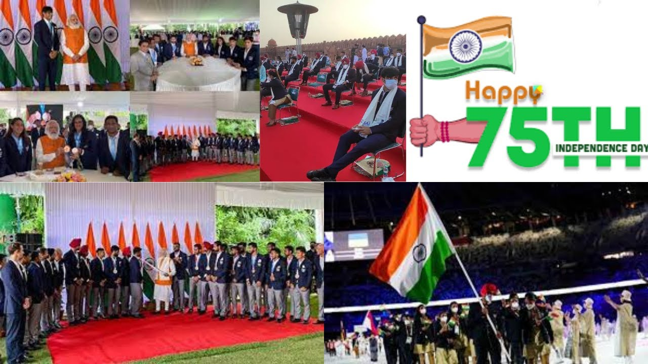 PM Modi hosts India's Tokyo Olympics contingent at his residence, pics surface