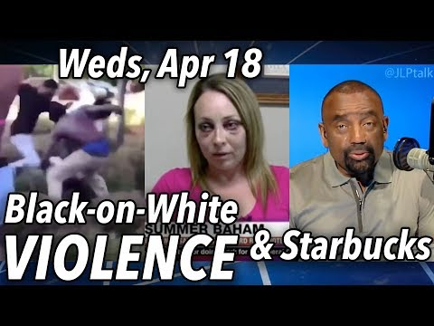 Real Black-on-White Crime | Jesse LIVE Weds 4/18 6-9a PT (8-11 CT / 9-noon ET) Call-in: 888-775-3773