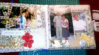 Альбом для Татьяны и Владимира на годовщину свадьбы