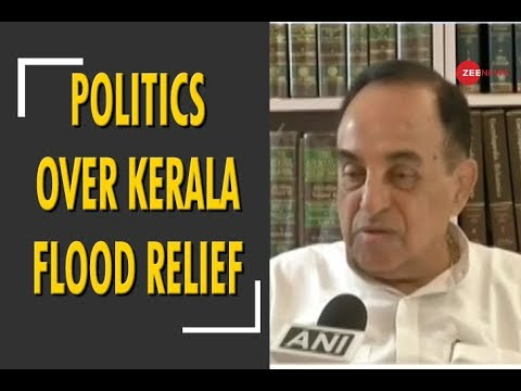 Congress, BJP 'playing politics' over Kerala flood relief package