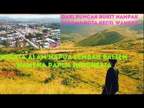Objek Wisata Napua Lembah Baliem Wamena Indonesia Youtube
