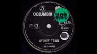 Rolf Harris - Sydney Town (Original Mono 45)