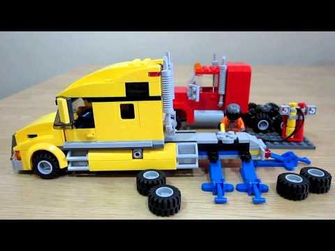 LEGO Gas welder in action.