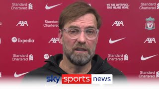 Jurgen Klopp provides updates on Ozan Kabak Sadio Mané RB Leipzig
