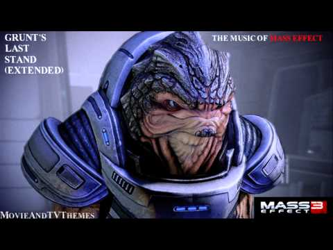 Mass Effect 3 - Grunt&39;s Last Stand Extended Soundtrack