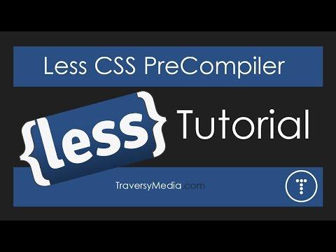 Less CSS Pre-Processor Tutorial