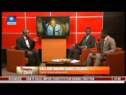 Lawyer Calls For Nnamdi Kanu's Unconditional Release Pt.1