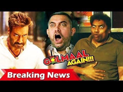 Golmaal Again BEATS Aamir Khan's DANGAL, Jhonny Lever's FUNNT Reaction On Golmaal Again