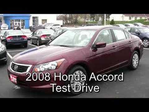 Jeff Wyler Honda >> Cincinnati Honda new Accord 2008 Review Test Drive Wyler - YouTube