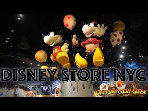 Visiting The Disney Store In Times Square, New York City!